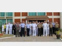 Autoridades participantes da Reunião