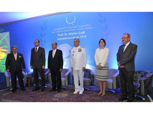 Comandante da Marinha e demais autoridades presentes ao evento