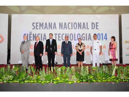 Marinha participa da XI Semana Nacional de Ciência e Tecnologia 2014