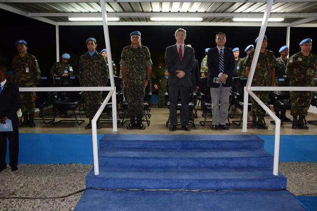 Militares do Contingente Brasileiro 2