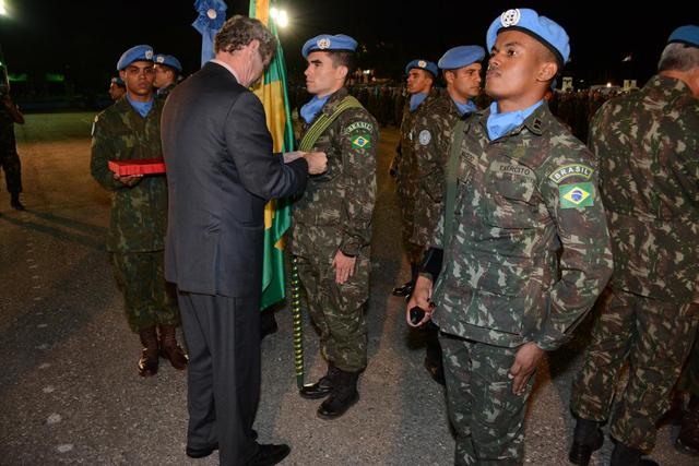 Militares do Contingente Brasileiro 3