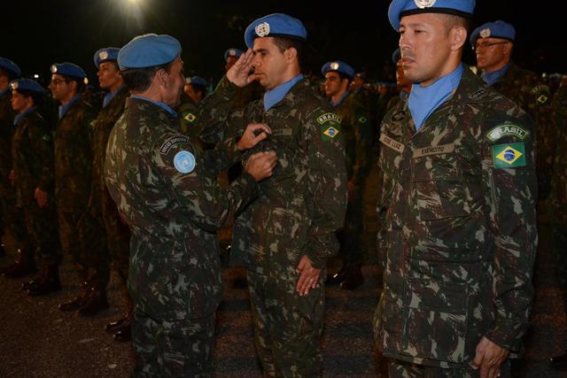 Militares do Contingente Brasileiro 4
