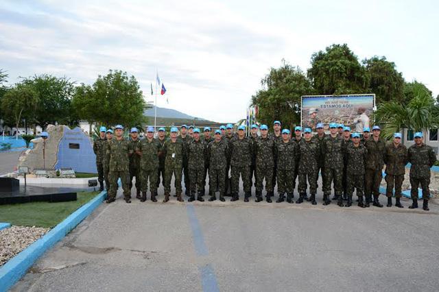 Visita de reconhecimento do BRABAT 21 ao Haiti