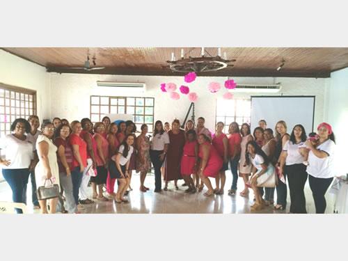 """Voluntárias """"Cisne Branco"""" – Seccional Ladário também apoiam a Campanha Outubro Rosa"""