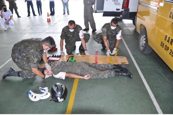 Base Aérea de Recife discute saúde e prevenção de acidentes de trabalho
