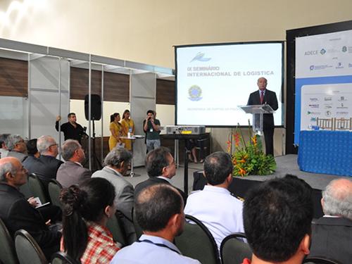 Capitania dos Portos do Ceará participa do IX Seminário Internacional de Logística