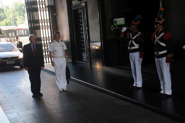Curso do Ministerio Federal da Defesa da Alemanha visita o CML 1