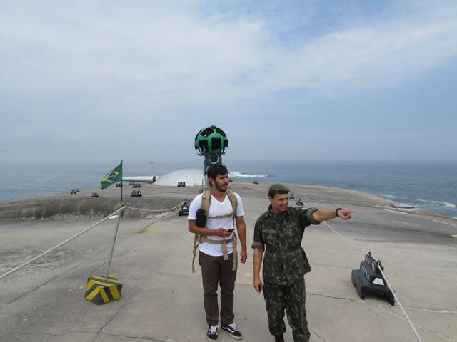Exército Brasileiro e Google Street View firmam parceria