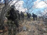 Fuzileiros Navais percorrem cerca de 40 km na caatinga, entre caminhadas e trechos feitos em caminhões