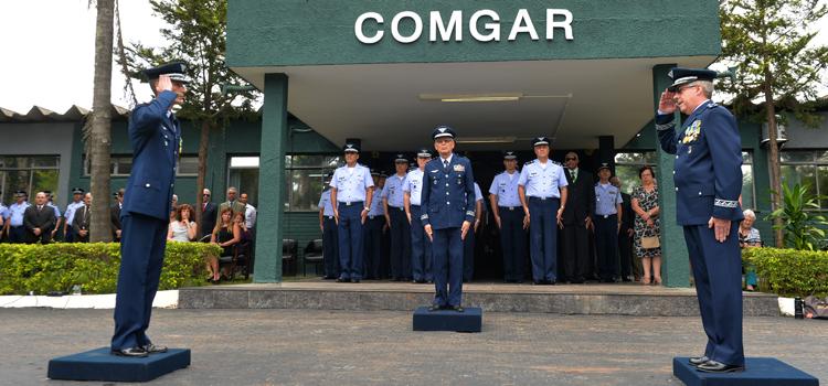 Pela sexta vez na História, um oficial de infantaria chega ao posto de brigadeiro da FAB