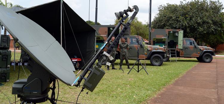 Primeira unidade do Sistema de Monitoramento de Fronteiras entra em funcionamento no Mato Grosso do Sul