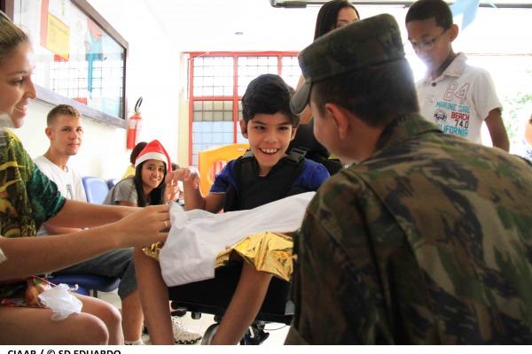 CIAAR Participa de Natal Solidário