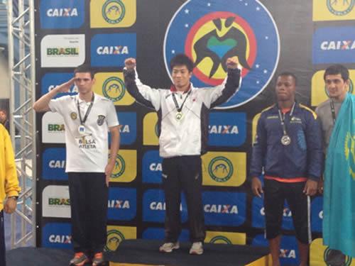 Centro de Educação Física Almirante Adalberto Nunes sedia a Copa do Brasil Internacional de Luta Olímpica
