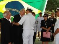 Comandante da Marinha inaugura Laboratorio