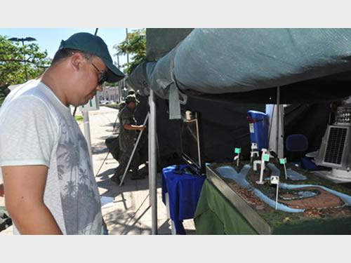 Comando do 6° Distrito Naval realiza Exposição e Atendimentos em comemoração ao Dia do Marinheiro