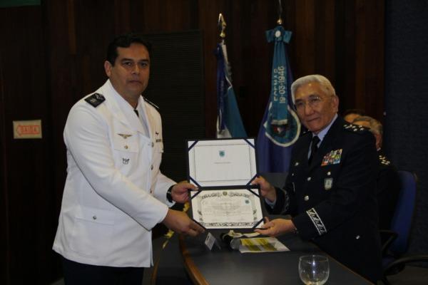 Escola de Comando e Estado-Maior da Aeronáutica realiza diplomação de 156 oficiais