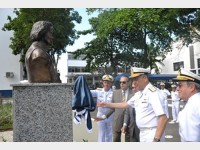 Inauguração do busto em homenagem a Jerônimo de Albuquerque