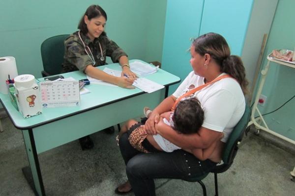FAB realiza mais de 500 atendimentos médicos no Amazonas
