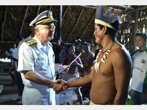 Marinha do Brasil forma primeiros marinheiros fluviais indígenas no Amazonas