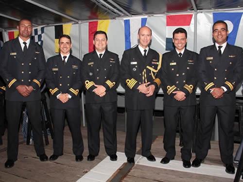 Marinha do Brasil participa das comemorações dos 197 anos da Armada da República Oriental do Uruguai
