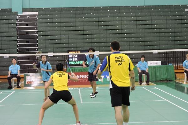 Militares da FAB conquistam destaque internacional no badminton 2