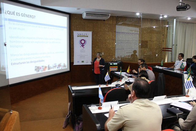 Ministerio da Defesa inicia o Workshop 3