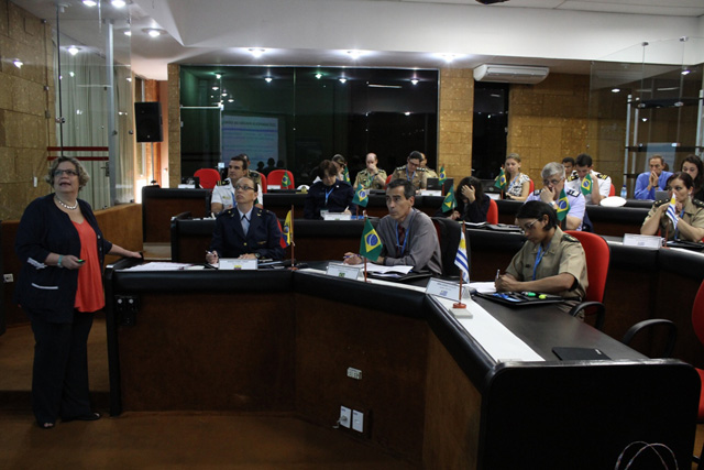 Ministerio da Defesa inicia o Workshop 4