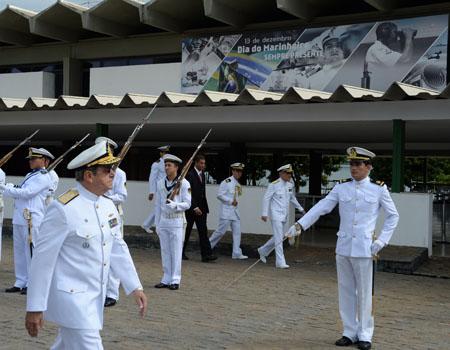 O Dia do Marinheiro foi comemorado no Corpo de Fuzileiros Navais em Brasília