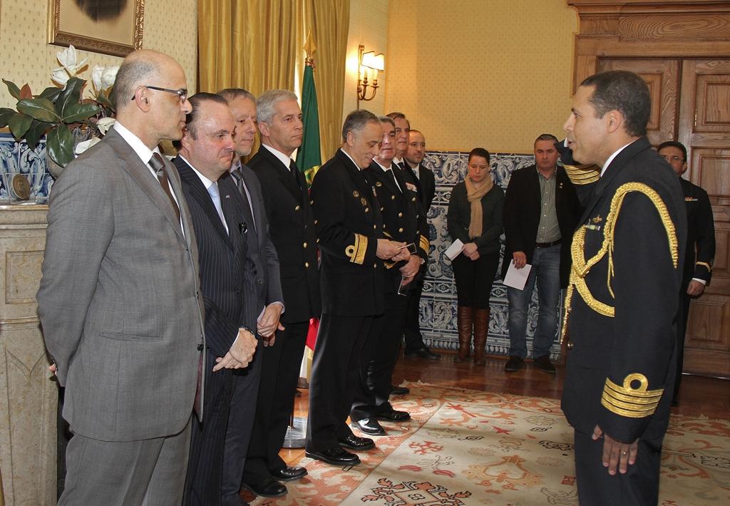 Cerimônia Comemorativa do Centenário da Adidância de Defesa e Naval, de 4 de fevereiro de 2014, na Embaixada do Brasil