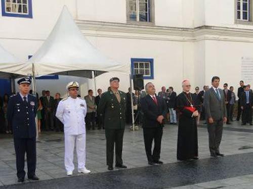 Marinha participa das comemorações dos 461 anos da cidade de São Paulo