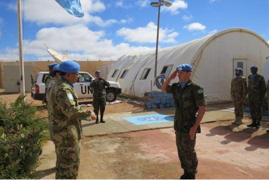 Brasileiro assume comando de base da ONU no Saara Ocidental
