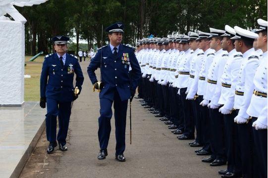 Corpo de Cadetes da Academia da Força Aérea (AFA) tem novo comandante