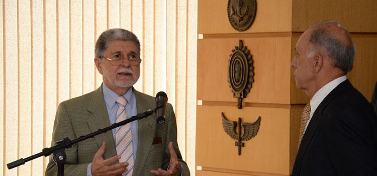 Celso Amorim se despede do Ministério da Defesa