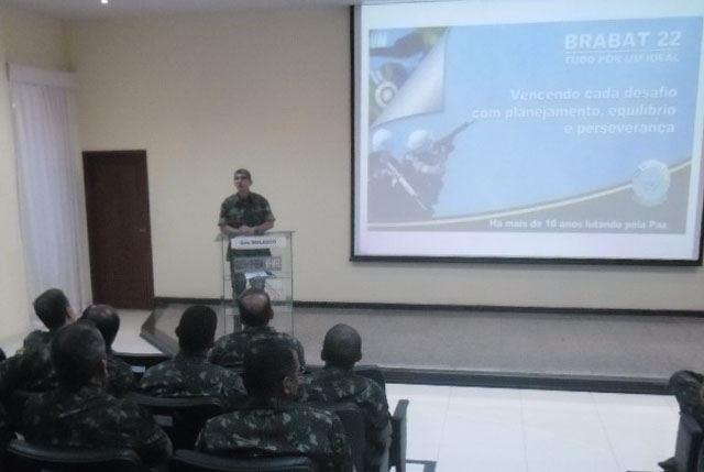 Ativação da Comissão de Preparo de Tropa para Missão de Paz do 22º Contingente