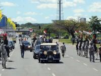 A presidenta Dilma Rousseff desfilará em carro aberto na Esplanada dos Ministérios