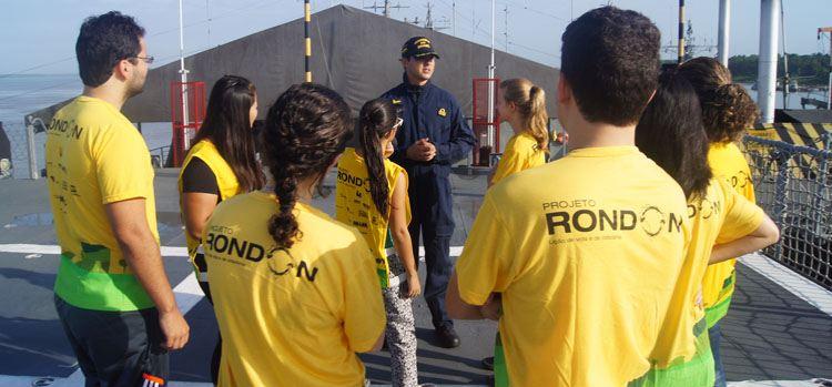 Marinha apoia ações do Projeto Rondon no Arquipélago do Marajó (PA)