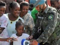 Na liderança da Minustah, as Forças Armadas do Brasil comandaram os esforços de resgate, assistência e reconstrução