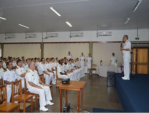 Comandante da Marinha visita o Comando do 5º Distrito Naval