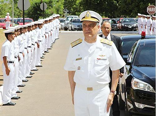 Comandante da Marinha visita o Comando do 7º Distrito Naval