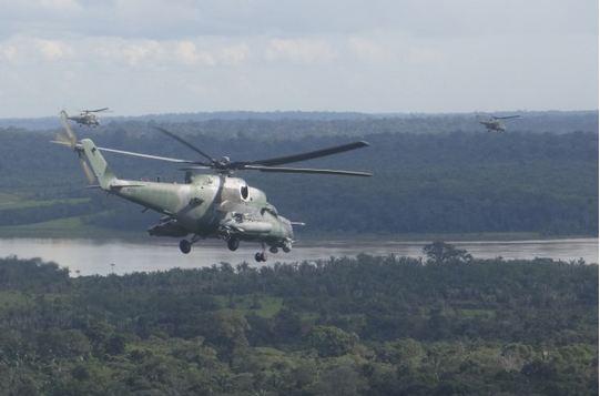 FAB completa frota de 12 helicópteros de ataque