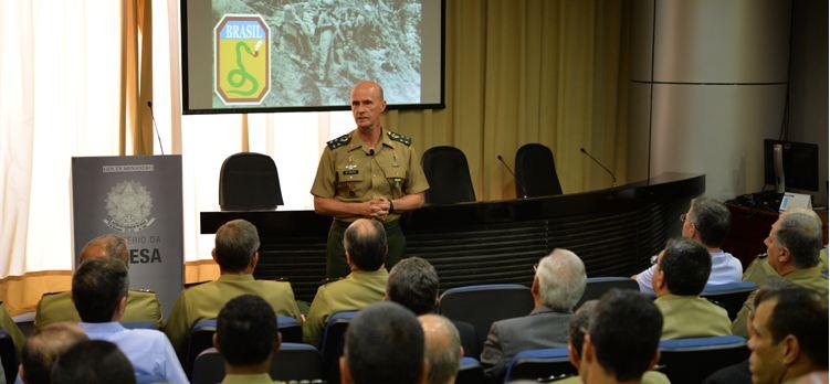 General Menandro Garcia, do Ministério da Defesa: participação brasileira na II Guerra Mundial deixou importante legado para as Forças Armadas - Foto: Jorge Cardoso