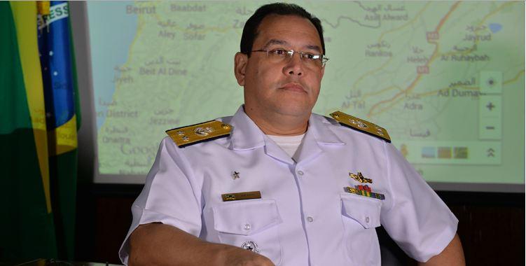 Almirante assume comando da Força Marítima da Missão da ONU no Líbano