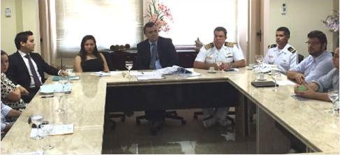 Capitania dos Portos do Ceará participa de audiência no Ministério Público Federal sobre a prática do kitesurf