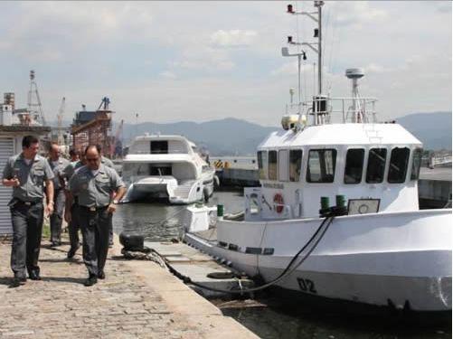 Comandante do 8º Distrito Naval visita Capitania dos Portos de São Paulo