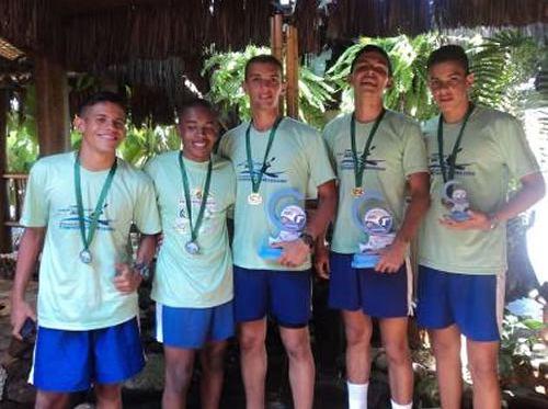 Equipe de Canoagem do Colégio Naval se destaca na 1ª etapa do Circuito Brasileiro de Canoagem Oceânica