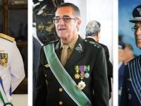 Novos comandantes das Forças Armadas