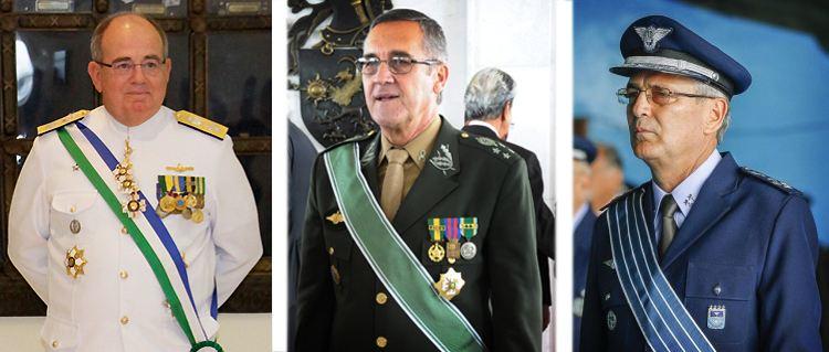 Decreto presidencial atualiza o número de oficiais-generais para 2015