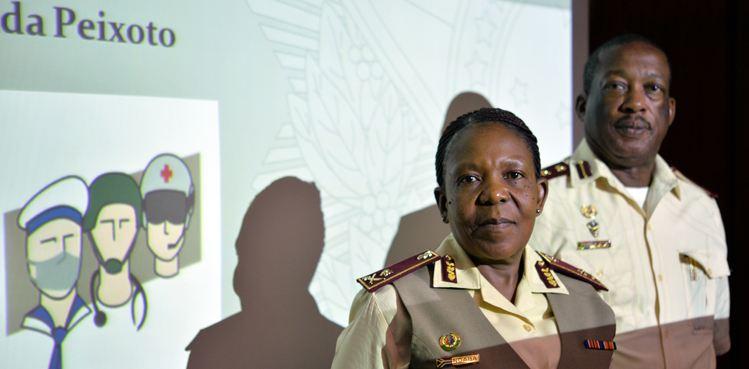 Oficiais sul-africanos conhecem sistema de saúde militar brasileiro