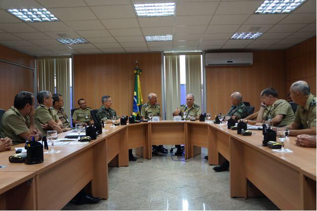 Posse do Comitê Gestor do Processo de Racionalização Administrativa do Exército Brasileiro