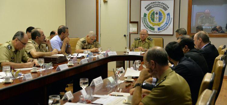 Ministério da Defesa e Comitê Rio 2016 analisam projetos dos Jogos Olímpicos